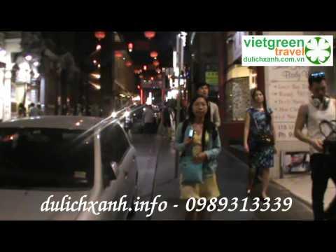 Australia - Lung linh đường phố về đêm (Du Lịch Xanh)