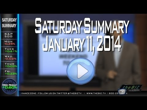 Saturday Summary -Stock Market Updates for Life Insurance and Annuity Professionals January 11, 2014