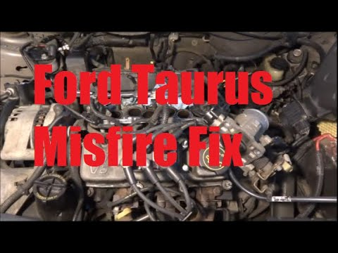wiring diagram for 2003 ford windstar 2002    ford    taurus misfire fix  fuel injector  youtube  2002    ford    taurus misfire fix  fuel injector  youtube