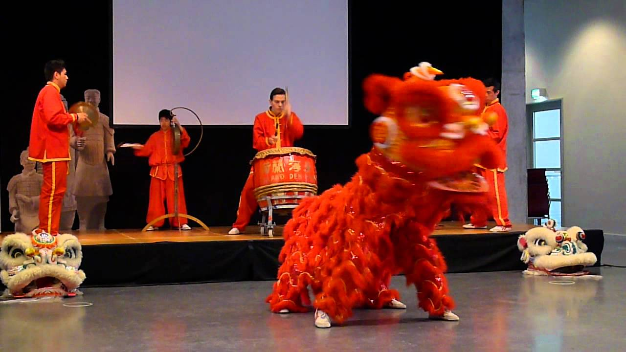 how to make a chinese lion dance head