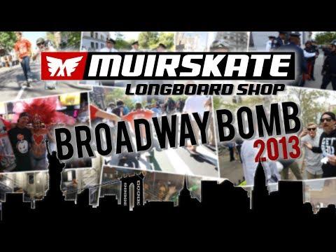 Broadway Bomb 2013 | Muir Skate Longboard Shop