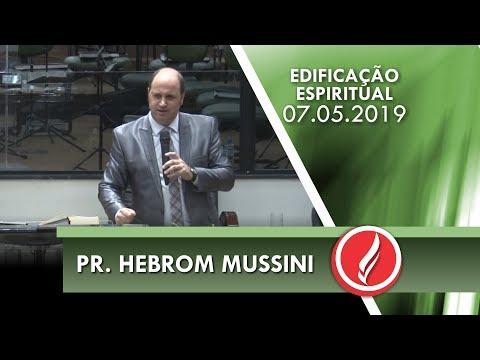 Pr. Hebrom Mussini | Cinco atitudes de Jairo | Lc 8.40 | 07 05 2019