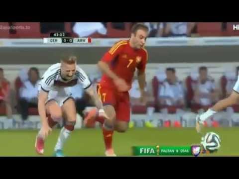 Marco Reus ( Injury ) - Germany vs Armenia 2014 - (Friendly Match) 2014