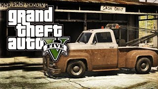 "GTA 5 Online: Secret Cars ""Tow Truck"" (GTA V)"