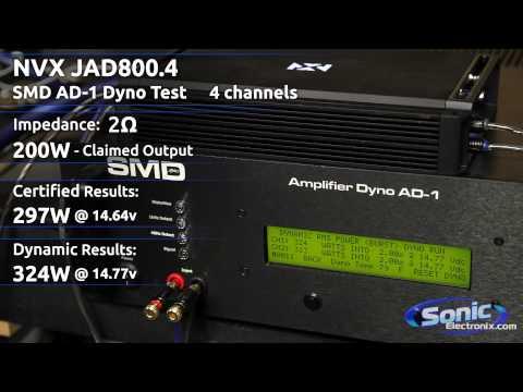 Sonic Electronix Certified Amp: NVX JAD800.4
