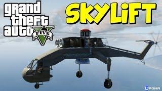 GTA 5: Come Prendere L'elicottero RARO Skylift [GLITCH