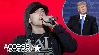 Eminem Blasts President Donald Trump In Epic Freestyle Rap 'The Storm'