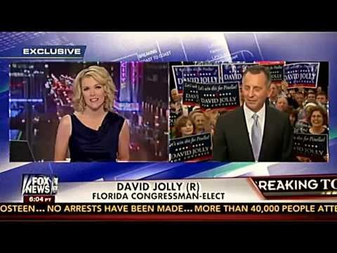 Megyn Kelly interviews David Jolly on Florida Election Victory