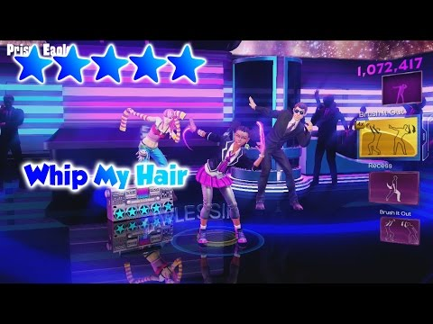 Dance Central 3 - Whip My Hair (DC2 Import) - 5 Gold Stars