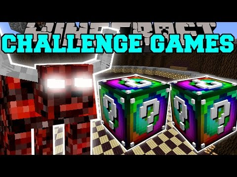 Minecraft: NETHER BEAST CHALLENGE GAMES - Lucky Block Mod - Modded Mini-Game