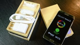 Unboxing Samsung Galaxy Note 3 [Replica Perfecta]
