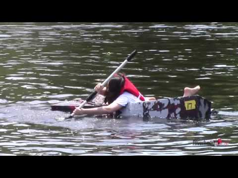 Some sink, some swim in Riverhead's annual cardboard boat races