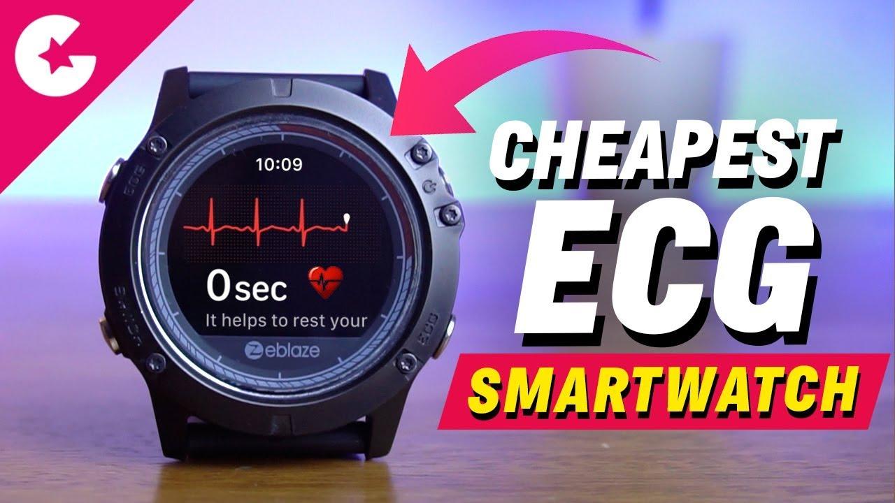 Cheapest Smartwatch With ECG - Zeblaze Vibe 3 ECG Review!!