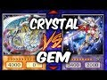 CRYSTAL BEASTS vs GEM KNIGHTS Yu gi Oh Competitive Deck Duel