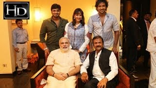 Mohan Babu Family with Narendra Modi Unseen Photos Collection