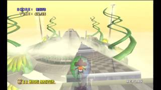 """Super Monkey Ball Deluxe: Master 11 """"Wave Master"""" World Record"""