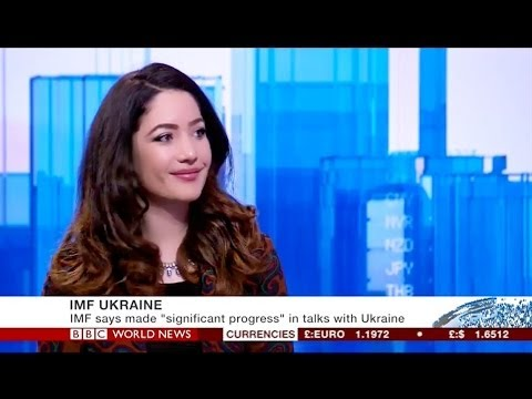 Open Europe's Nina Schick discussing the potential IMF bailout of Ukraine
