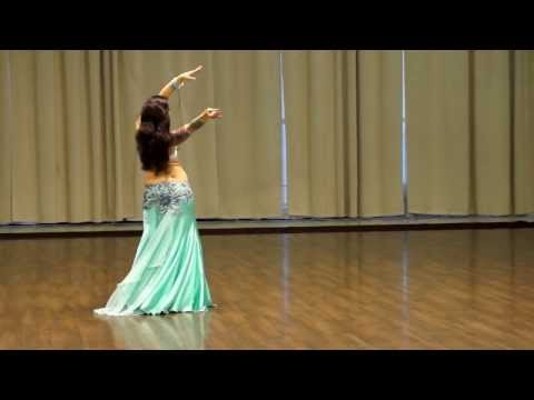 Ebru Becker - winner of an open cup on bellydance 2014 (Studio Oasis Dance)