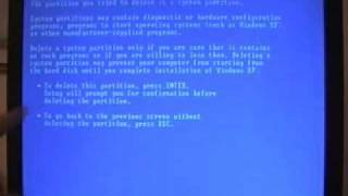 How To Format And Reinstall Windows Xp