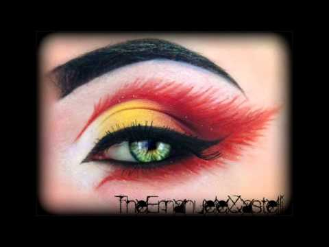 Fire's Fairy - Make Up Tutorial (inspired by KlaireDeLysArt)