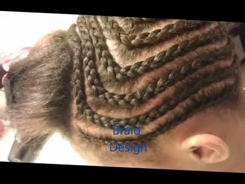 Middle Part Sew- In Tutorial