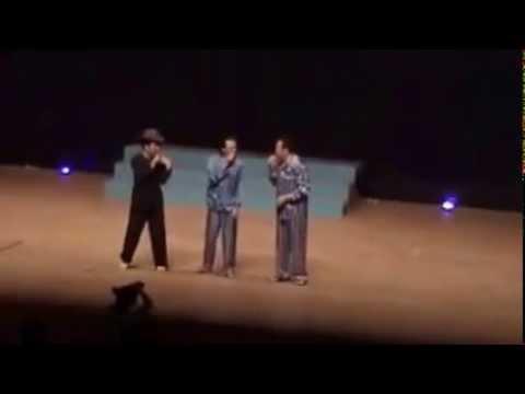Tập thể dục hài new HD   Hoài Linh, Trường Giang, Chí Tài 6 2014 tại Nhật Bản
