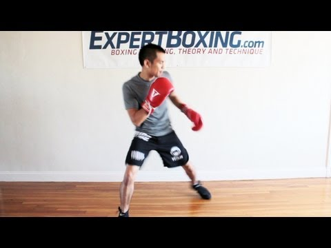 Boxing Footwork Tip - Moving In and Out Faster