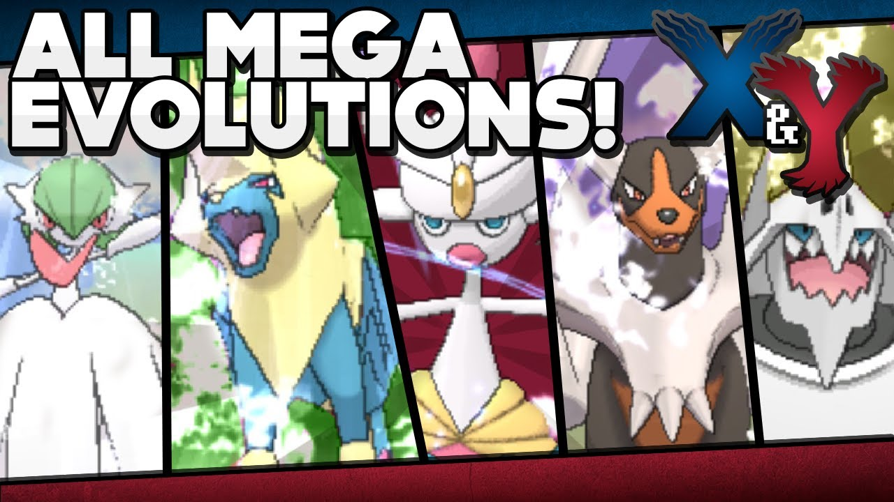 Pok mon x and y all mega evolutions w stats and locations youtube - Pokemon mega evolution y ...