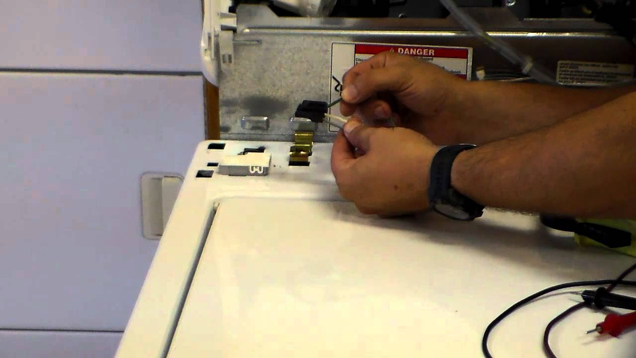 Whirlpool Kenmore Washer Not Draining Lid Switch Test