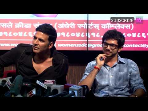 Women safety defence centre launch | Akshay Kumar & Aditya Thackrey - part 3