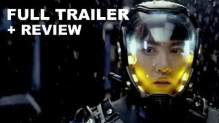 Pacific Rim Official Trailer 2013 + Trailer Review : HD