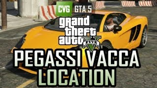 GTA 5 Pegassi Vacca Location Epsilon Car