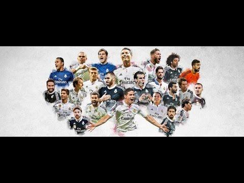 Điểm Danh Các Cầu Thủ Real Madrid. (Full HD)