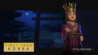 Sid Meier's Civilization VI - Rise and Fall: Korea