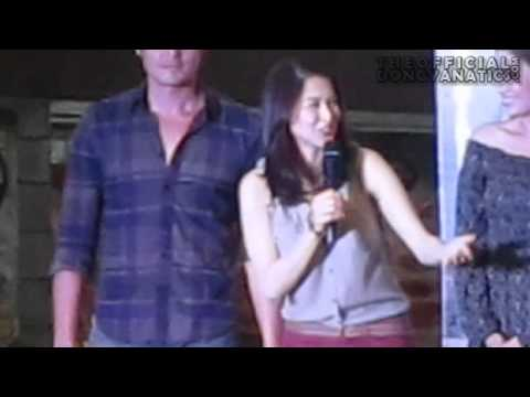 Dingdong and Marian at Robinsons Pioneer  for My Beloved Mall Show 04-01-12