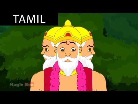 Brahma Tamil Animated Cartoon Stories