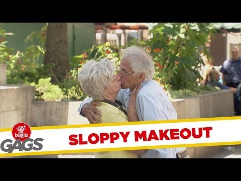 Sloppy Senior Makeout Prank