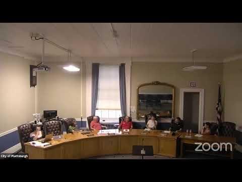 Plattsburgh Planning Board Meeting  7-26-21