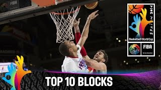 Top 10 Blocks - 2014 FIBA Basketball World Cup