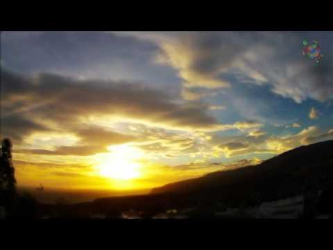 Sonnenuntergang in Roquetas de Mar