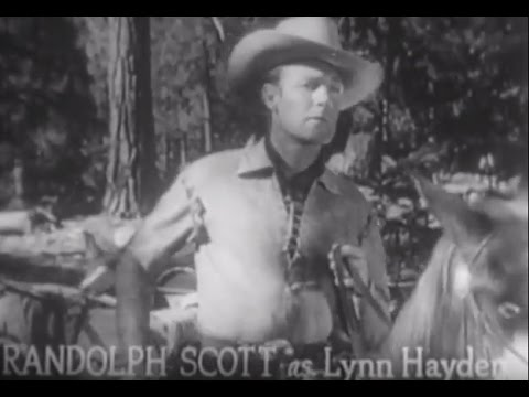 To the Last Man - Randolph Scott, Western Full Movie