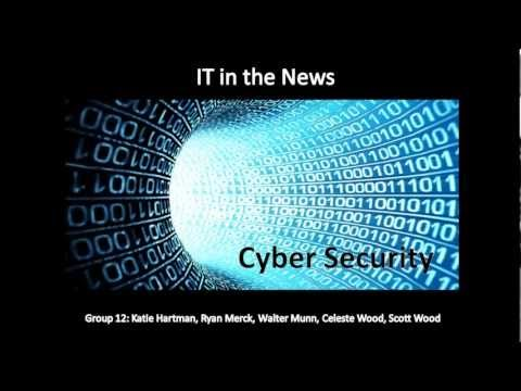 0 Cyber Security History, Threats, & Solutions   2013