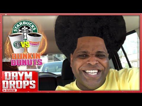 Starbucks vs Dunkin Donuts Coffee