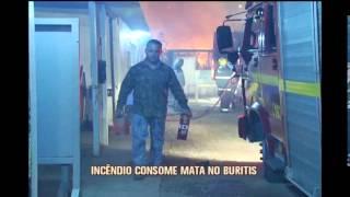 Bombeiros registram inc�ndios em lotes vagos em BH e Regi�o Metropolitana