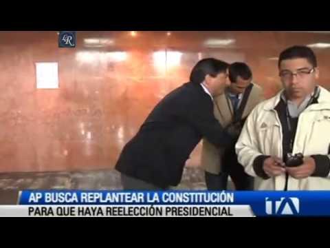 REELECCION 2017 RAFAEL CORREA : Acerca de la reeleccion indefinida