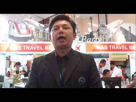 MAS Travel Biro Tourism Partners ( Thailand ) on Astindo Fair 2014