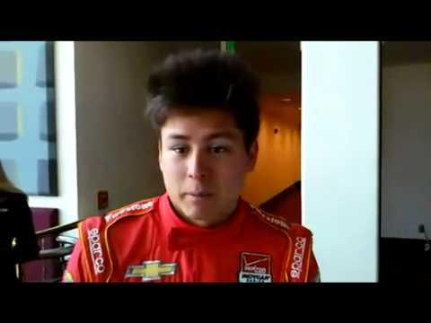 Entrevista Sebastian Saavedra Indycar 2014