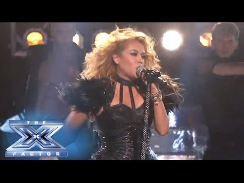 "Paulina Rubio Performs ""Boys Will Be Boys"" - THE X FACTOR USA 2013"