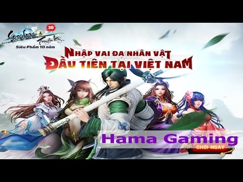 Song Long Truyền Kì Game mới của VTC , Team Boba đang chơi