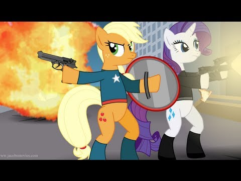 Avengers Re-enacted by Ponies